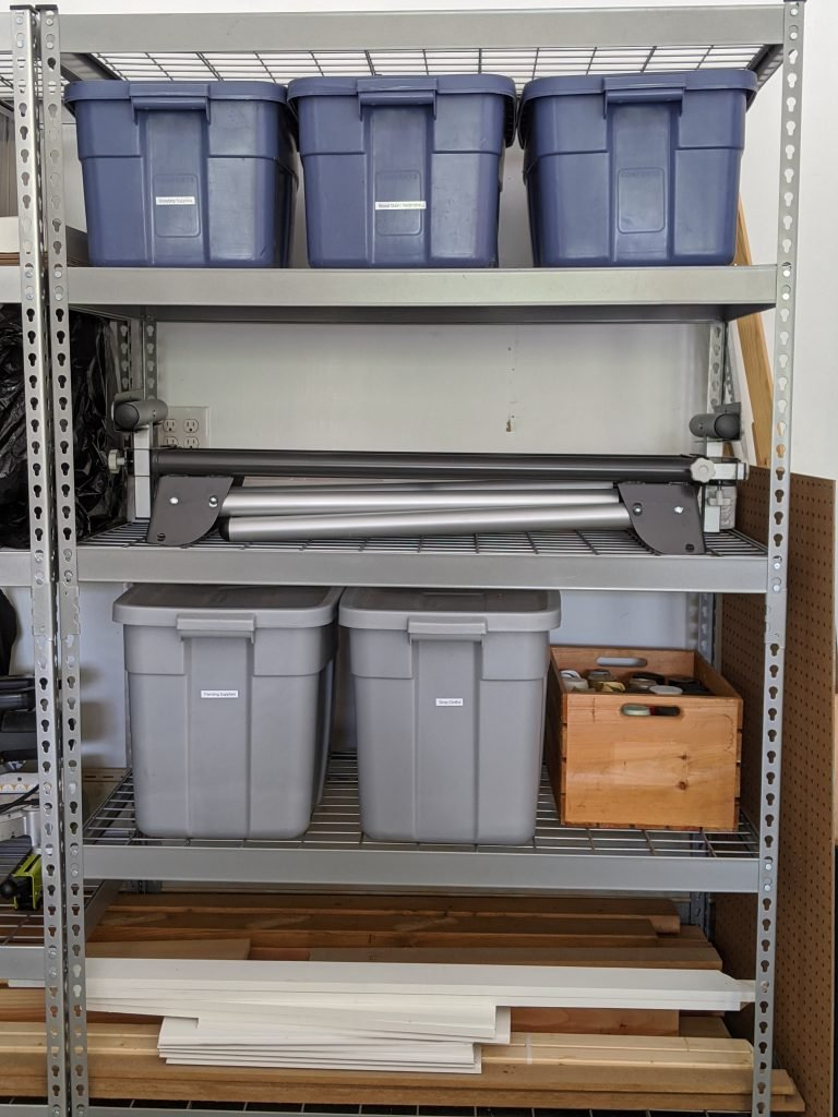 Achievable Garage Organization