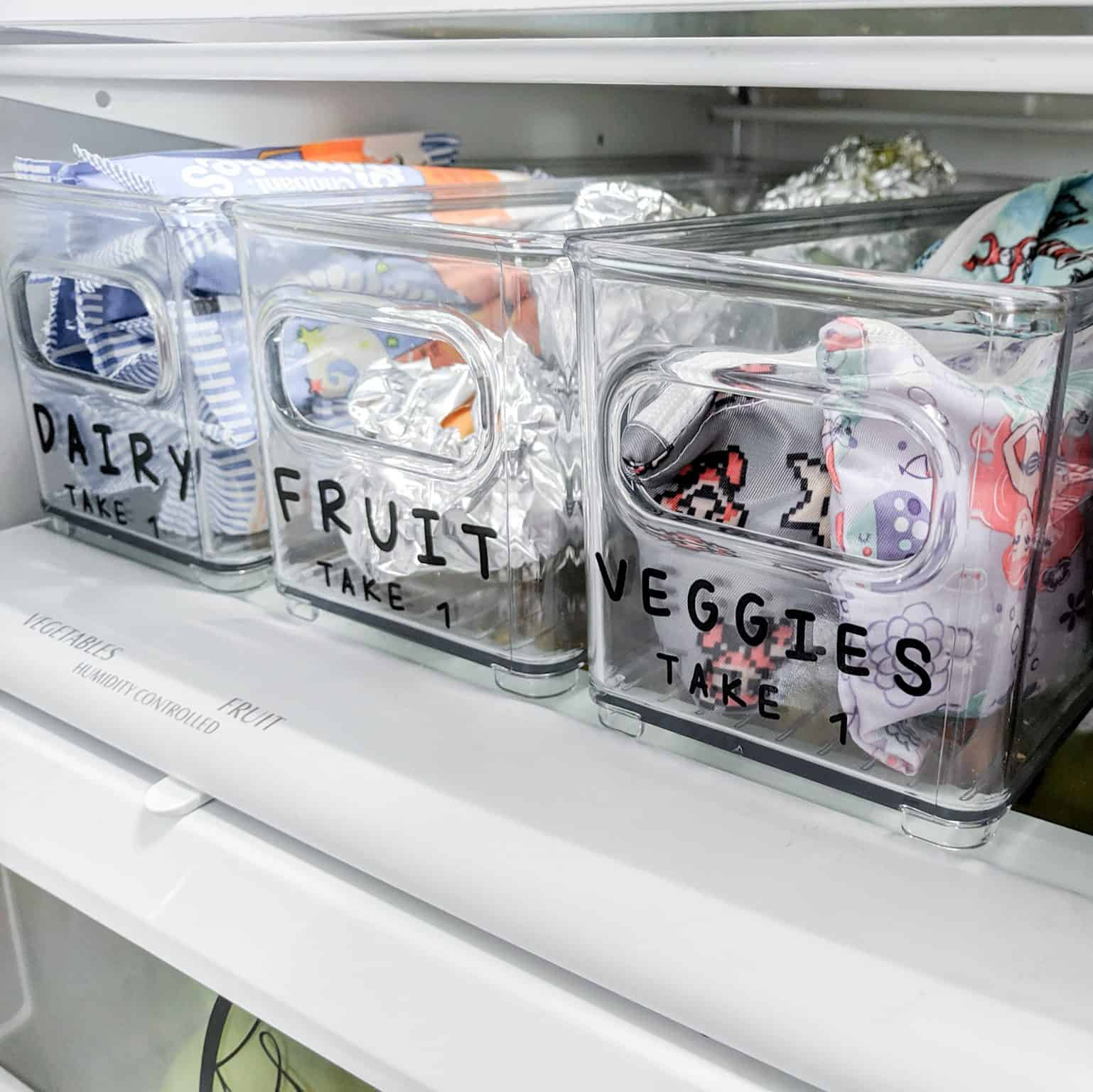 Packing lunches is no fun, but with this simple system, it can be quick and easy.
