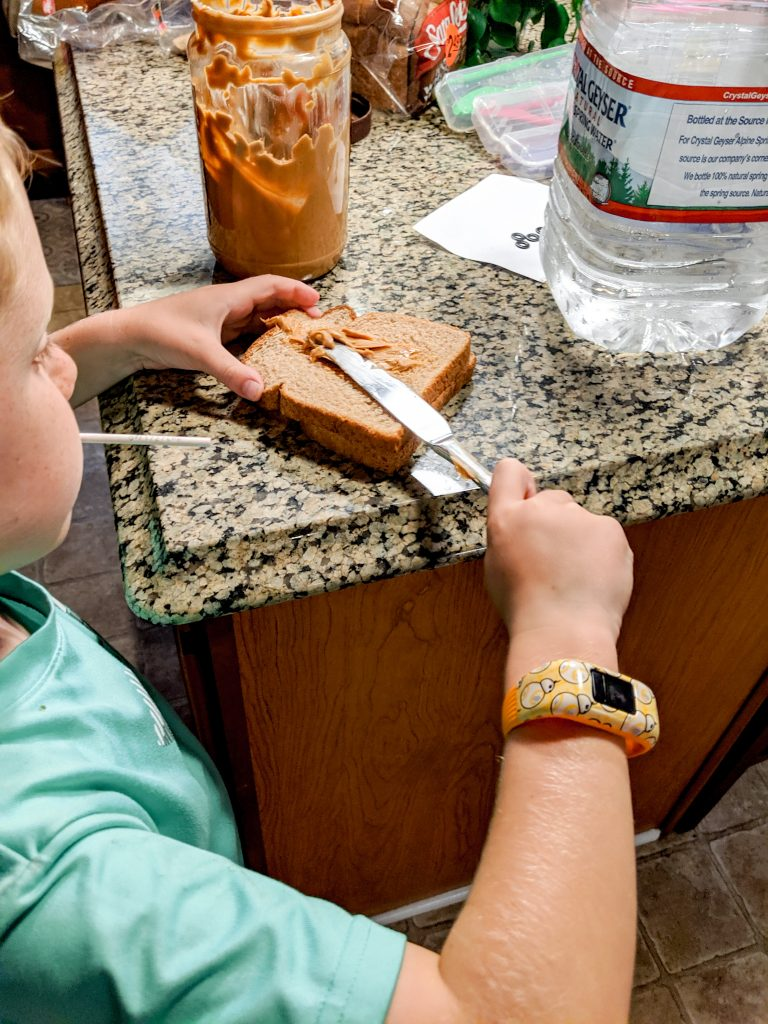 Packing lunches can be tedious, but putting kids in charge makes things a lot easier.