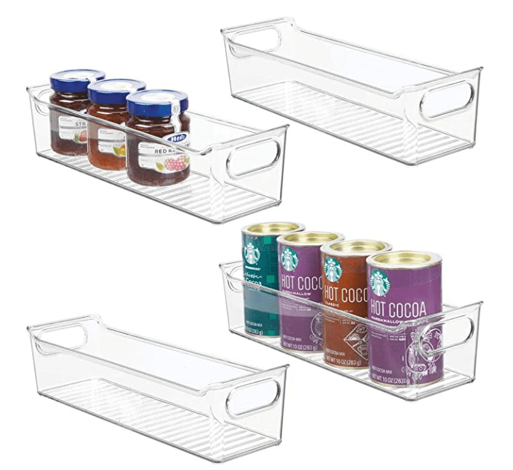 These bins were perfect for setting up my lunch packing system.