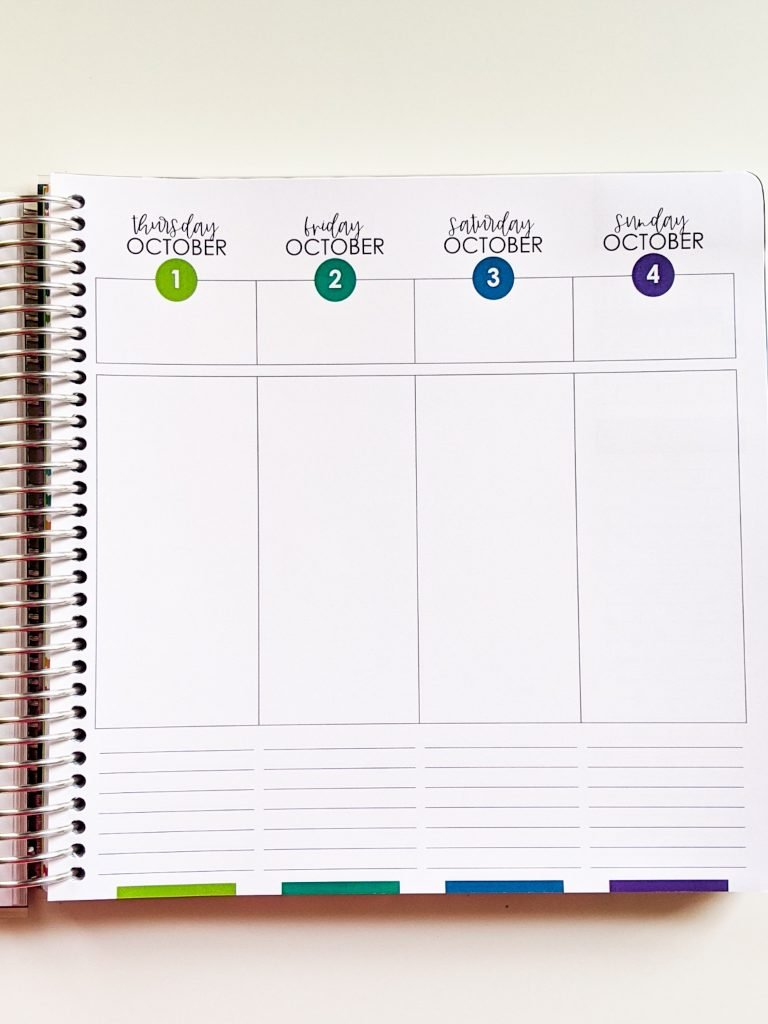 My 2020-2021 Limelife Planner helps me organize my life and stay productive.