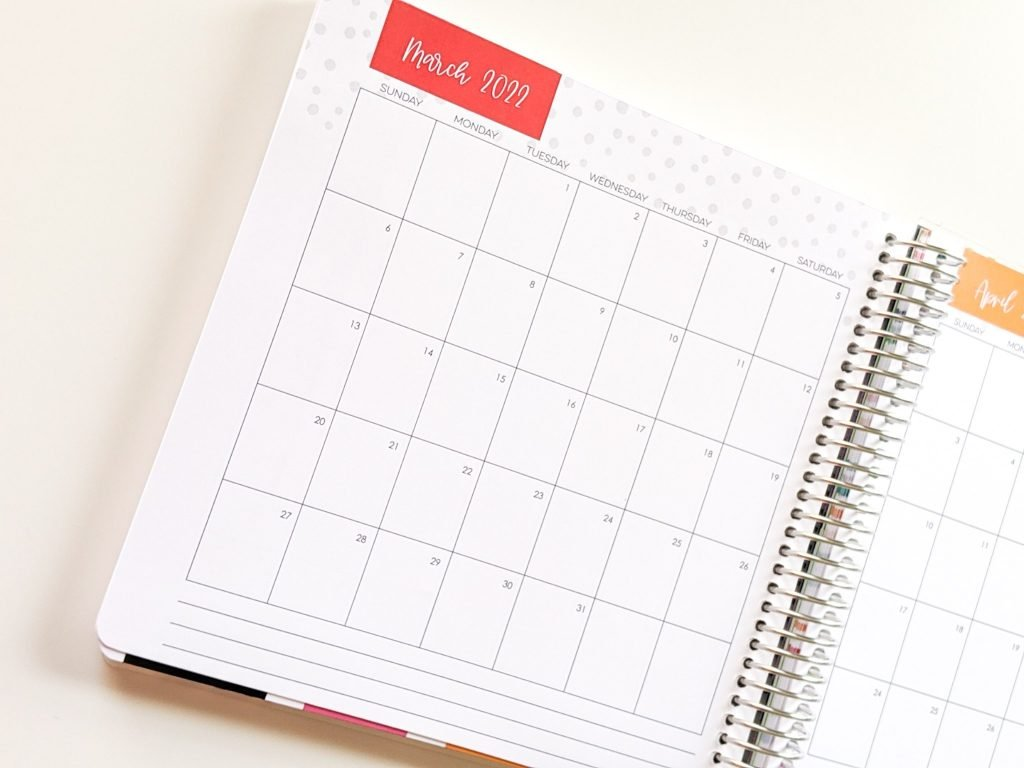 My 2020-2021 Limelife Planner helps me organize my life and stay productive into 2022.
