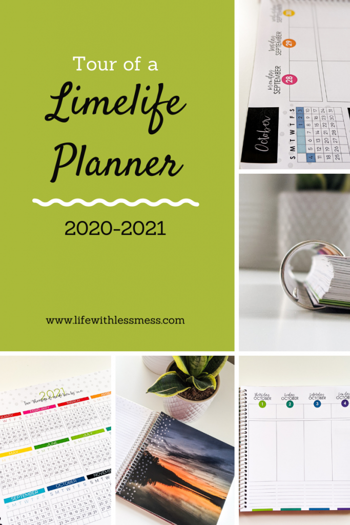 My 2020-2021 Limelife Planner helps me organize my life and stay productive. Here's a tour!