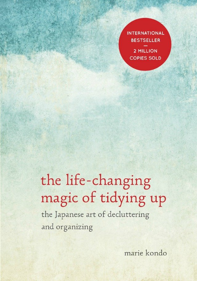 The Life Changing Magic of Tidying Up is a great guide to decluttering.