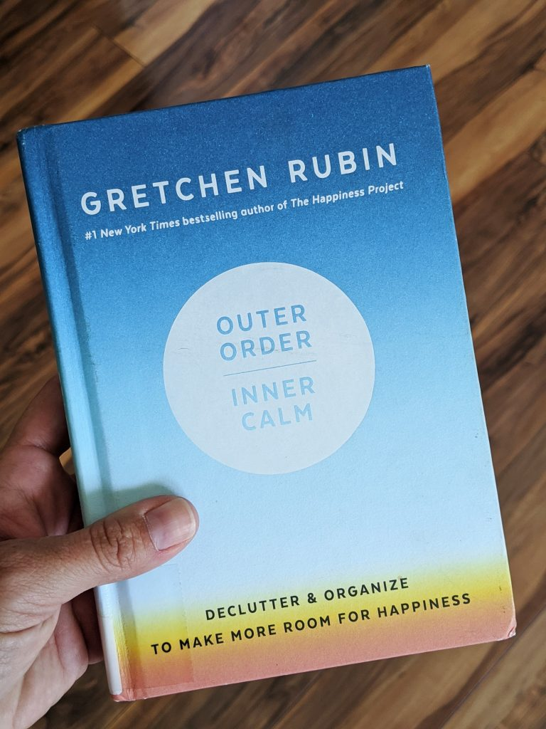 Outer Order, Inner Calm by Gretchen Rubin is a quick read and a great motivator if you're getting ready to organize and purge your home.
