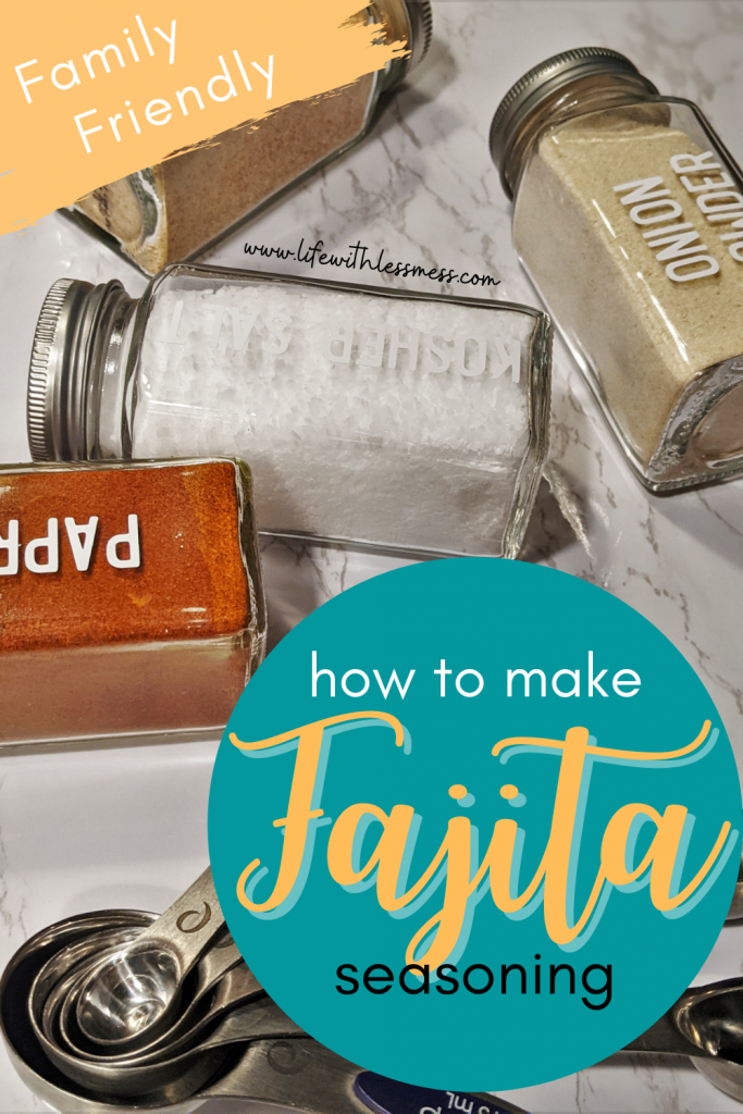 How to make Homemade fajita seasoning the whole family will love!
