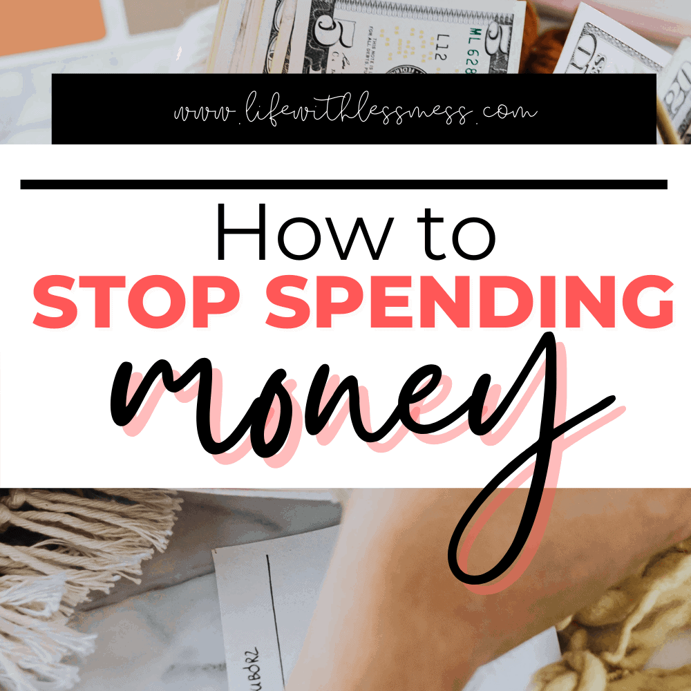 11 Tips for how to stop spending money every day so you can meet your savings goals.