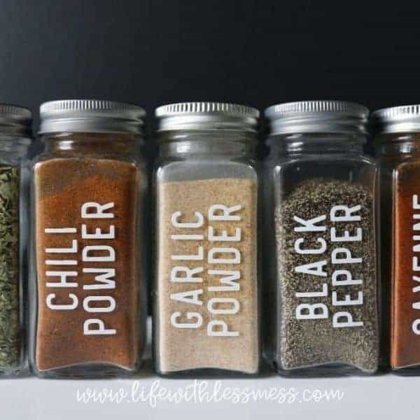 Organized, but want some pretty labels? Check out our custom labels on Etsy.