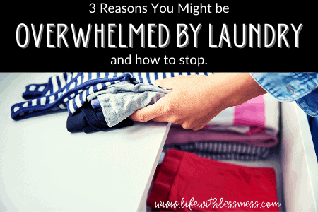 Too much laundry? 3 solutions.