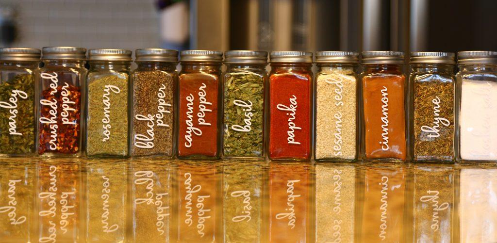 Spice Jar Organization Ideas