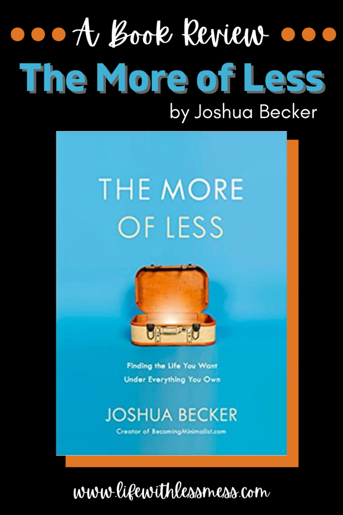 The More of Less by Joshua Becker is a worthwhile read for anyone considering minimalism, or even those who aren't.