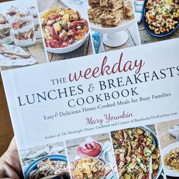 The Weekday Lunches and Breakfasts Cookbook by Mary Younkin
