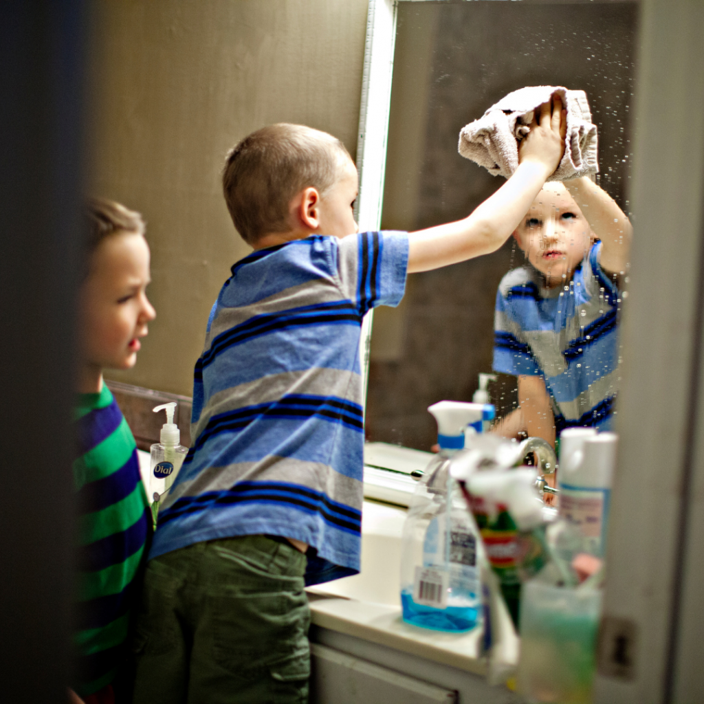 25 chores for 8 year olds