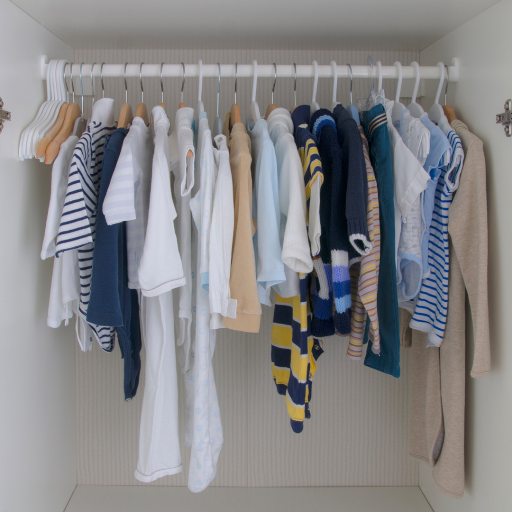 Minimalism for Moms is helpful when tackling children's clothing, too.